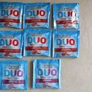 8 packs of ICE BREAKERS DUO FRUIT + COOL ( STRAWBERRY and RASPBERRY ) flavors NE