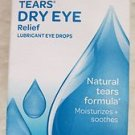 Visine Tears Dry eye Relief Lubricant eye drops 1/2 fl. oz. (15 mL)exp: 2015 NEW