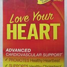 Renew Life Love Your heart Advanced Cardiovascular support 90 vegetable capsules
