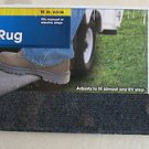 "Camco Wrap Around RV step rug 18 "" wide Fits manual or electronic steps camping"