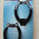 Goody Ouchless Flex No Metal Comfort Barrettes 2 pcs Black color 09292 girl hair