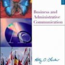 Business And Administrative Communication by Kitty O Locker CD included 6th Edit