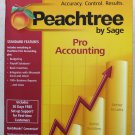 Peachtree by Sage Pro Accounting 2007 Budgeting Complete package in box payroll
