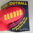 Aerobie Football The world's Best Foam Football Pocketed grip yellow red Gift ki