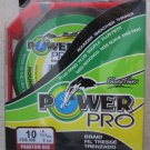 Power Pro Spectra Phantom Red 10 lb 300 yards Line Fishing Rounder Smoother fish