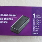 Staples Dry eraser board 4.7 in x 1.8 in Ref# 13612 Black office school classroo