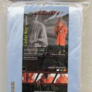 Cedar Key Sport Econolite Poncho light grey # 5105 raincoat light weight PVC NEW