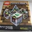 Lego Minecraft 21105 micro world 466 pcs building toy the village zombie NEW Gif