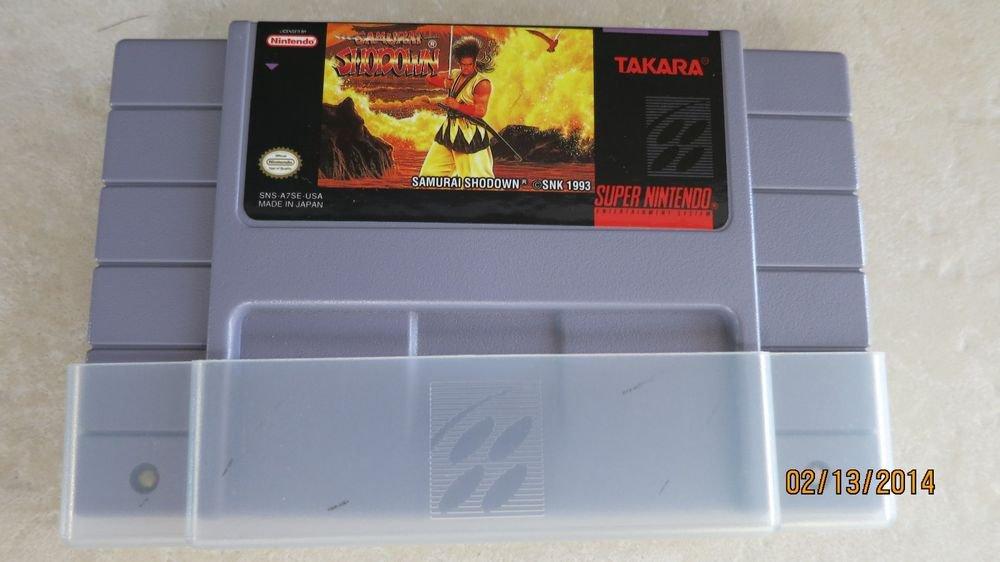 TAKARA Super Nintendo Made in Japan Samurai Shodown SNS-006 game kid toy collect