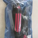 New Adidas Performance BLACK / RED Soccer Shin Guards Protection Gear SMALL S sp