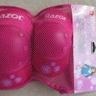 Razor SweetPea multi-sport Elbow and Knee pads Youth 8+ PINK sweet pea GIRL pad