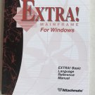 EXTRA! Mainframe For Windows - EXTRA ! Basic Language Reference Manual book only