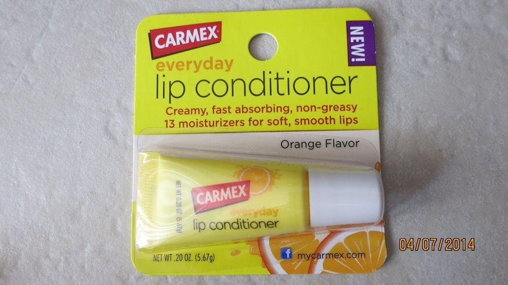 Carmex everyday lip conditioner .20 oz ( 5.67 g ) lip balm creamy Orange flavor
