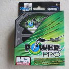 Power Pro Spectra Vermilion Red 8 lb 150 yards Line Fishing Rounder braided fish