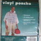 "TWO Texsport Authentic Adventure Gear Vinyl Poncho 32710 light blue 50 "" x 80 """