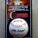 TWO Franklin Little League Practice baseball white official size weight # 1540