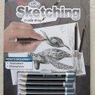 "Mini Sketching Made Easy Kit 5""X7"" Sea Turtles SKMIN104 drawing board pencils NE"