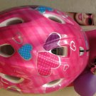 Bell Barbie Helmet value pack with Horn Toddler pink bicycle protect head girl
