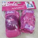Barbie My Fab Protective Gear ( Knee and Elbow with Gloves ) Girl pink cute pads