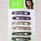 Scunci no slip grip 37172-Q all day hold 8 pcs hair clip girl women fashion NEW