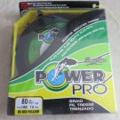 Power Pro Spectra Hi Vis Yellow 80 lb 150 yards Line Fishing Rounder braided Fis