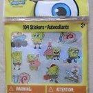 SpongeBob Squarepants 104 Glitter Stickers Autocollants cool decoration NICK NEW