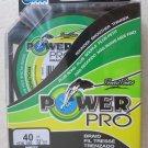 Power Pro Spectra WHITE 40 lb 150 yards Line Fishing Rounder braided fishing NEW