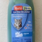 Hartz Ultra Guard Rid Flea & Tick Shampoo for Cats 15 fl oz (444ml) Fresh Scent
