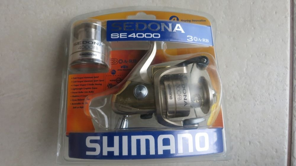 SHIMANO Sedona SE4000 fishing reel 4 BB Cold Forged Aluminum Spool SE4000FBC NEW