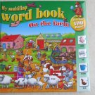 My multiflap World book On the Farm ( more than 100 flaps ) 9789086221912 HC kid