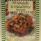 Vegetarian Times 61 Quick and Healthy Reciptes HC book cooking snacks salads ver