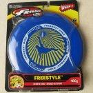 Wham o Frisbee disc Freestyle Sports Disc 160g kid gift NEW throw DARK BLUE out