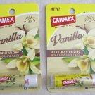 2 of Carmex Ultra Moisturizing Lip Balm SPF 15 Vanilla .15 oz (4.25 g) with smoo