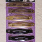 Goody Classics 8 pcs SNAP CLIPS PINCES ref# 12304 hair Long hairs metal girl woe