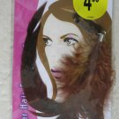 Stylin' FEATHER HAIR EXTENSIONS women highlights clip BROWN clip-in halloween NE