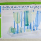 Bottle And Accessory Drying Rack Especially for Baby Holds up to 8 bottles caps