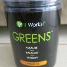 IT WORKS Global Greens ORANGE Alkalize Detoxify Balance 12.7 oz. ( 360g ) supple