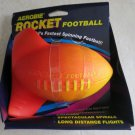 AEROBIE ROCKET FOOTBALL Orange The world's fastest spinning football toy A50 NEW