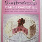 Good Housekeeping Cake Lovers cook book pb book plain fancy classic cupcake deco