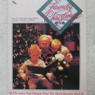 A Family Christmas BK08059 music song book All the lyrics and Dialogue from the