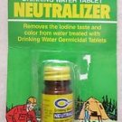 Coghlan's Drinking Water Tablet Neutralizer 9584 removes the iodine taste color