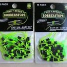 2 packs Rod-N-Bobb's CH7015 BobberStops 15 ct ea. pack slotted sleeves light up