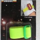 Unique Flashing Safety Light with armband BL-2 brilliant 2 functions L.E.D NEW