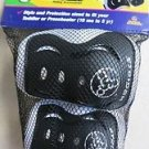 Kids New Strider Knee Elbow Pad Set Black Toddler Toy Gift Play Childs pads ride