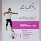 Zon Medium Resistance Tube ZP/TB-MD-P Zon Thrive Fitness Program Breast cancer