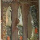 "Mossy Oak Pro Hunter Kit Sealed MO-PHKIT gut hook knife folding saw 4"" knife NIB"