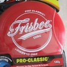 FRISBEE Disc Freestyle Sports 130 g RED ages : 5+ Throwing outdoor toy gift NEW