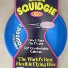 Aerobie Squidgie BLUE disc A22 Flexible soft comfortable catche outdoor gift NEW