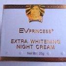 EV Princess Extra Whitening Night Cream 25 g contains high protein exp: 08/2018
