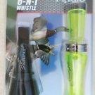 Finisher Combo Green Duck Call + 6 N 1 Whistle MM-PT Buck Gardner Calls Mallard